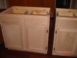 Diy Staining Kitchen Cabinets Diy Kitchen Island Made By Hubby Me From Unfinished Kitchen