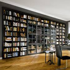 enticing awesome home library design