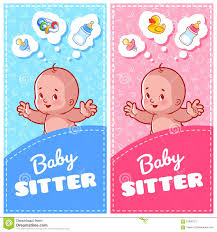 two vertical flyer of babysitter cute toddler and baby toys two vertical flyer of babysitter cute toddler and baby toys