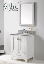 Bathroom White Vanities Caroline Avenue 24 Inch Contemporary Bathroom Vanity Bathroom