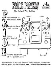 Small Picture Attractive Design Bus Safety Coloring Pages Bus Safety Coloring