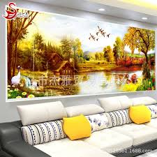DIY embroidery 5D <b>diamond</b> painting bedroom <b>living</b> room ...