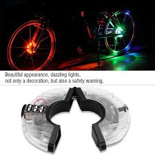 <b>Bike</b> Wheel Hub Light Rechargeable LED Waterproof <b>Bicycle Safety</b> ...