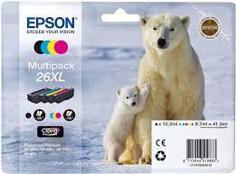 Комплект <b>картриджей Epson 26XL</b> Multipack (C13T26364010 ...
