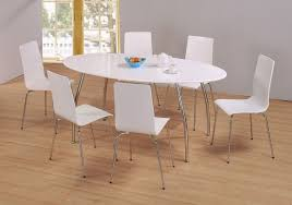 pc oval dinette dining room set table
