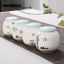Китайский стиль, керамические банки для специй, кухонная ...