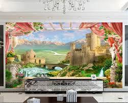 <b>Beibehang Custom Photo Wallpaper</b> 3D European Retro Art TV ...