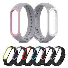 <b>Silicone Replacement</b> Strap Wristband Watch Band for Mi 3 4 <b>Smart</b> ...