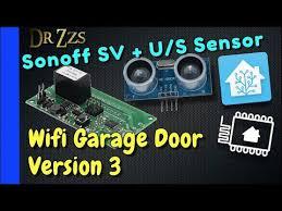 Add <b>Wifi</b> Control to your Garage Opener using <b>Sonoff SV</b>, ESPhome ...