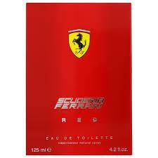 <b>Ferrari Scuderia Ferrari Red</b> Eau de Toilette Spray 125ml - Aftershave