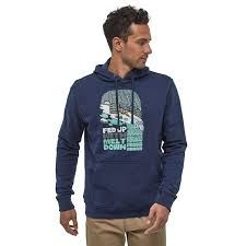 <b>Толстовка Patagonia Fed Up</b> With Melt Down Uprisal Hoody ...