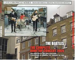 「1969, beatles last play on apple building top without notice」の画像検索結果