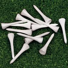 Item No. 007a- Golf tees- $29.99 (set of 10 bags) each bag comes with 100 tees.