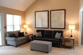 wall paint with brown furniture. wall colors with grey sofa decor comfortable fabric sofas black paint brown furniture