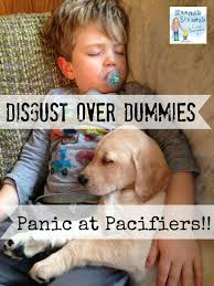 disgust over dummies panic at pacifiers dummies and pacifiers parenting
