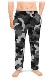 <b>Мужские пижамные штаны</b> Камуфляж #2696550 – заказать ...