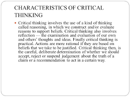 Ppt on expanded role of nurse CRITICAL THINKING in Nursing Practice        active  organized  cognitive process used to