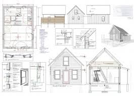 Tiny House Plan for Sale   LiveModern  Your Best Modern HomePlan sheet for      x      Brattleboro Tiny House