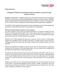 news releases singapore polytechnic