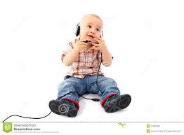<b>Happy Baby</b> Support <b>Phone</b> Operator In Headset Stock Photo ...