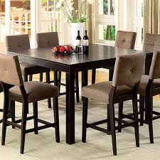 rectangle kitchen table high dining