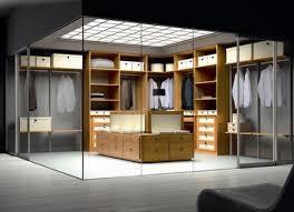 fashion fanatics dream walk in closet design with glass walls architecture awesome modern walk closet