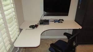 furniture divine design home office desk ideas with curve shape floating computer desk and wall captivating design home office desk