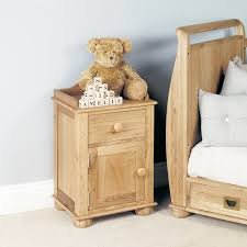 amelie solid oak bedside cabinet 1 door 1 drawer bedside table chadwick satin lacquered oak hidden