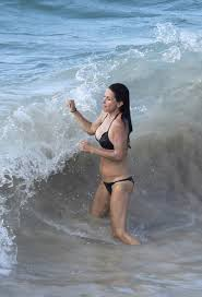 Courtney Cox Nipple Slip In St. Barts While Frolicking In The. Im only glad she wears skimpy bikinis in the rough surf. And is frolicking in the Caribbean waves with her nipples out for my viewing pleasure. Enjoy.