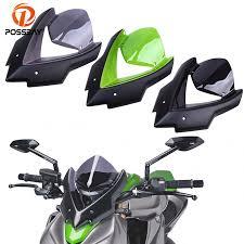<b>POSSBAY Motorcycle Windscreen Windshield</b> Double Bubble ...
