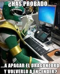 Servicio Power Ranger... si tengo un problema... #Memes #Español ... via Relatably.com