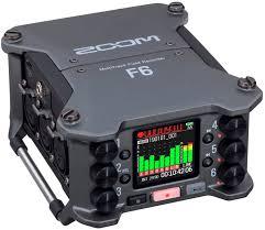 <b>Zoom F6</b> – компактный универсальный <b>рекордер</b>   ProSound