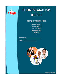 business analysis report template formats excel word template it