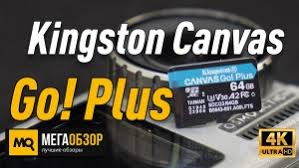Обзор Kingston SDCG3. <b>Карты памяти Kingston Canvas</b> Go! Plus с ...