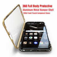 <b>Luxury Full</b> Body <b>Protective Magnetic</b> Case For Huawei P20 Pro ...