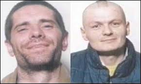 George Black (left) and Pat Moore (right). George Black (left) jailed over killing Pat Moore - _38689709_moore300