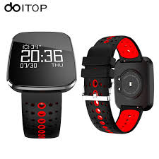DOITOP <b>V6 Smart Watch</b> OLED HD Screen Fitness Tracker ...