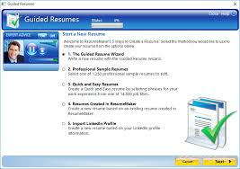 resumemaker professional download    resumemaker professional   users can access the guided resumes window for different resume making options