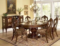 Round Dining Room Furniture Hit Exciting Cheap Dining Room Table And Padded Gray Chairs On