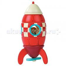 <b>Конструктор Janod магнитный</b> Ракета - Акушерство.Ru
