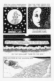 annabel lee worksheet delibertad annabel lee by edgar allan poe julian peters comics