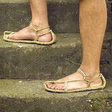 <b>Men</b> Shoes Sandals Straw Shoes Summer Flip Flop Beach Shoes ...