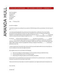 web designer cover letter sample what to write in cover letter for job application