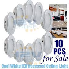 image is loading 10pcs 12v 70mm led recessed ceiling dome light ceiling domes with lighting