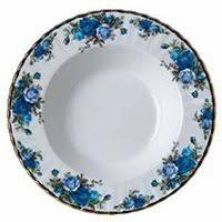 <b>Тарелка</b> Royal Albert <b>Тарелка суповая</b> Розы <b>в</b> Лунном Свете 24см