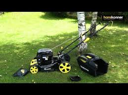 <b>Бензиновая газонокосилка Hanskonner HPL5116BS</b>