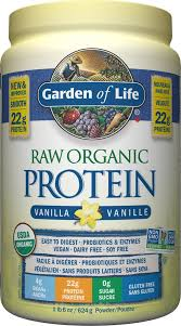 Buy Garden of Life <b>Raw Organic Protein</b> Vanilla 624 g at Vitasave.ca ...