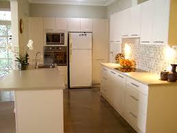 kitchen with splashback