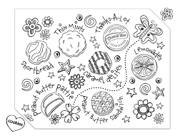 Small Picture Coloring Page Home Is Where The Cookies Are Coloring Coloring Pages