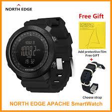 Original <b>North Edge APACHE</b> Sports Smartwatch Compass ...